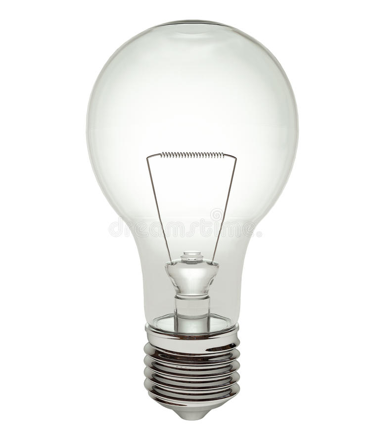 Download Light Bulb With Clipping Path Stock Illustration - Illustration: 11909933