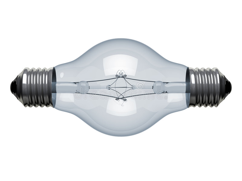 Light bulb creative royalty free illustration