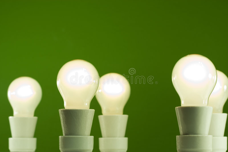 Light bulb - Environment Concept royalty free stock photography
