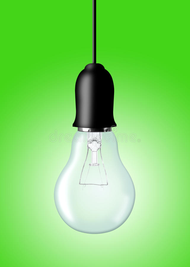 Download Light bulb stock photo. Image of inspiration, glass, solution - 39239820