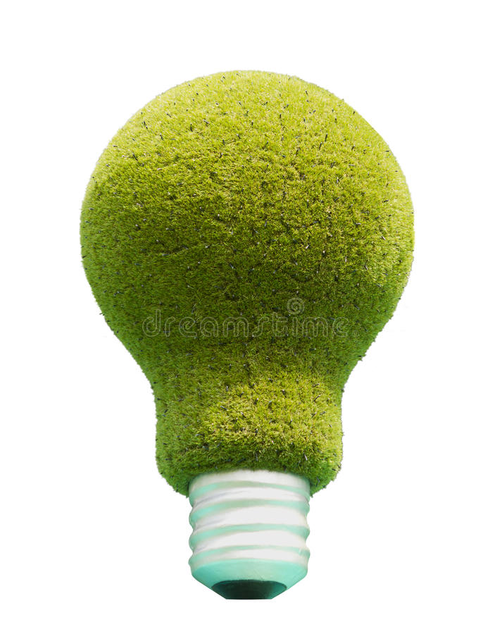 Download Light Bulb With Green Grass. Stock Illustration - Image: 24709074