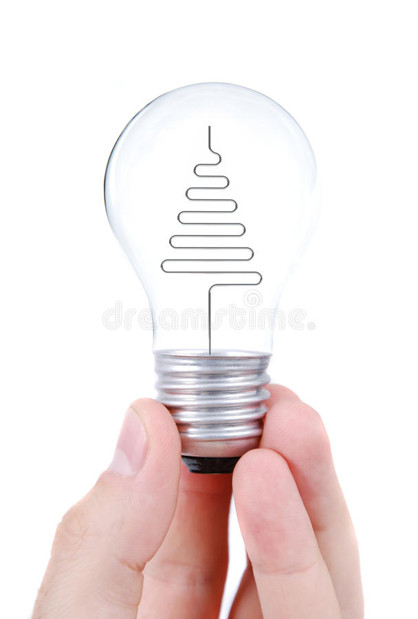 Download Light bulb in hands stock photo. Image of equipment, hand - 10960700