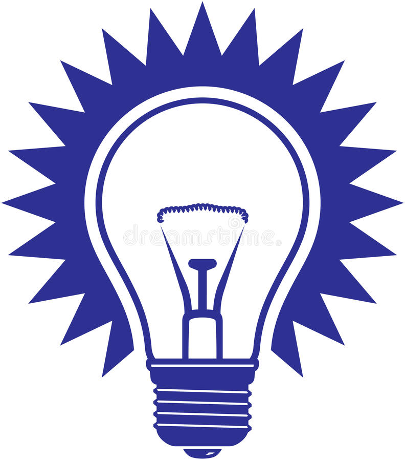 Download Light bulb  icon stock vector. Illustration of clipart - 13623656