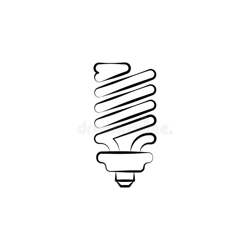 Light bulb icon. Element of lighting icon. Thin line icon for website design and development, app development. Premium icon. On white background stock illustration