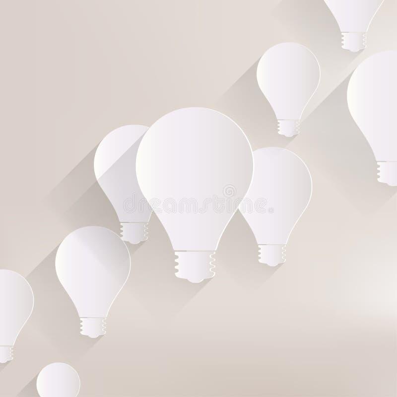 Light bulb icon royalty free illustration