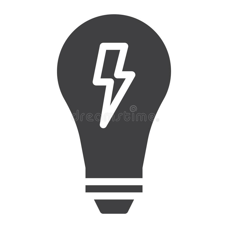 Light bulb icon vector stock vector. Illustration of flat - 99794463