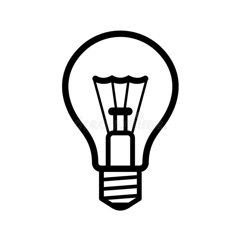 Lightbulb icon white