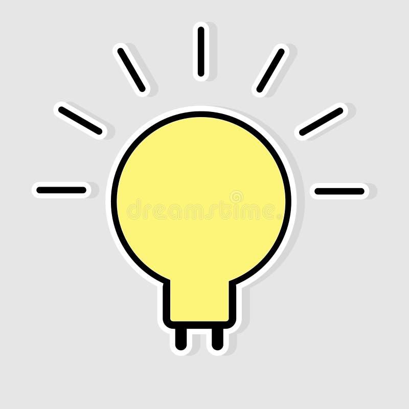 Download Light bulb idea stock vector. Illustration of environment - 38894845