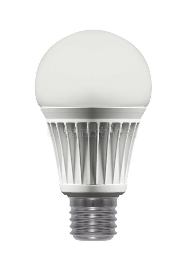 Light bulb, isolated stock images