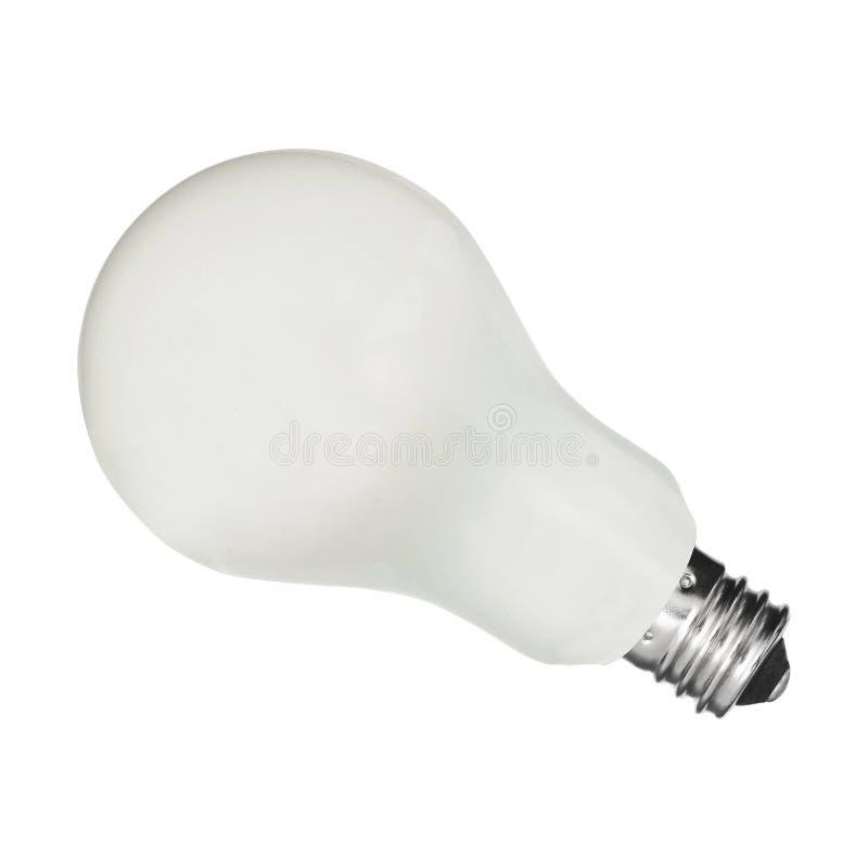Light bulb, isolated royalty free stock photos