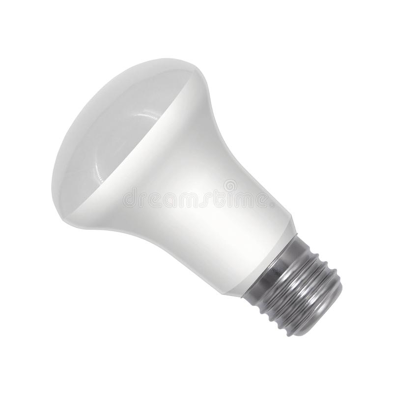 Light bulb isolated royalty free stock images