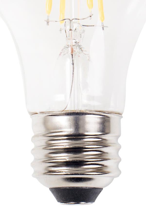 Light Bulb Metal Base royalty free stock image