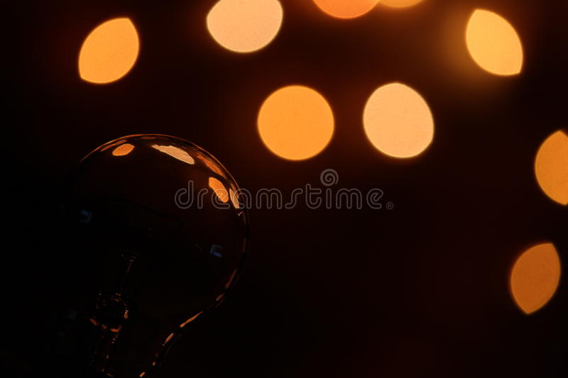 Light Bulb Photography royalty free stock photo
