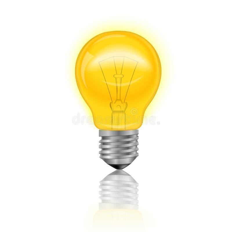 Light Bulb Realistic royalty free illustration