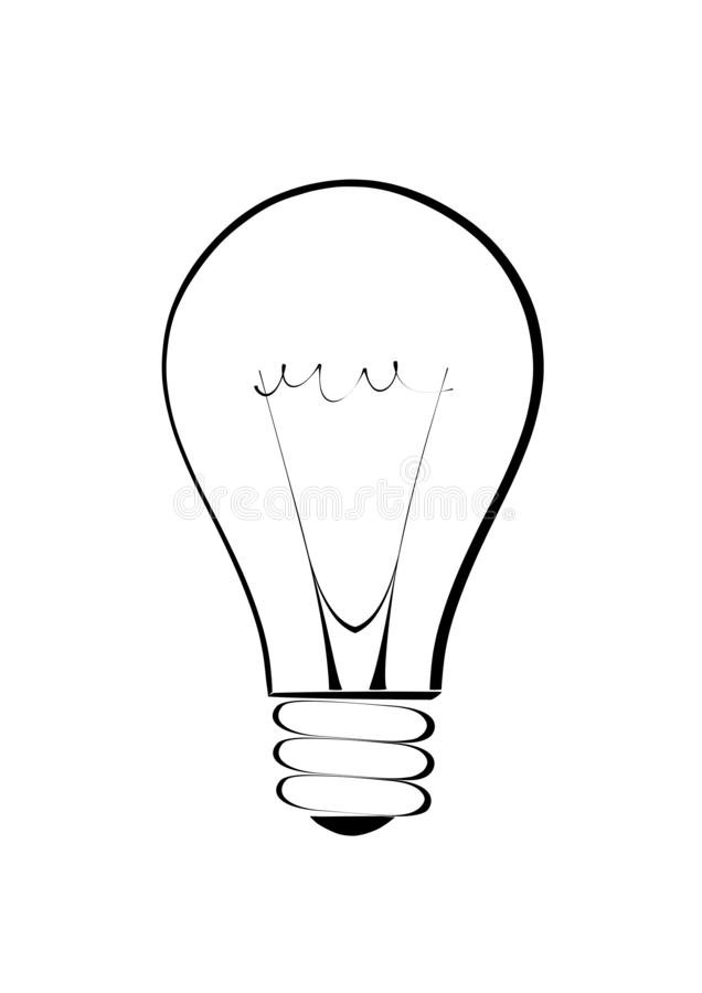 Light Bulb Sketch Vector Image Stock Vector - Illustration of bulb, sketch:  139089225Dreamstime.com