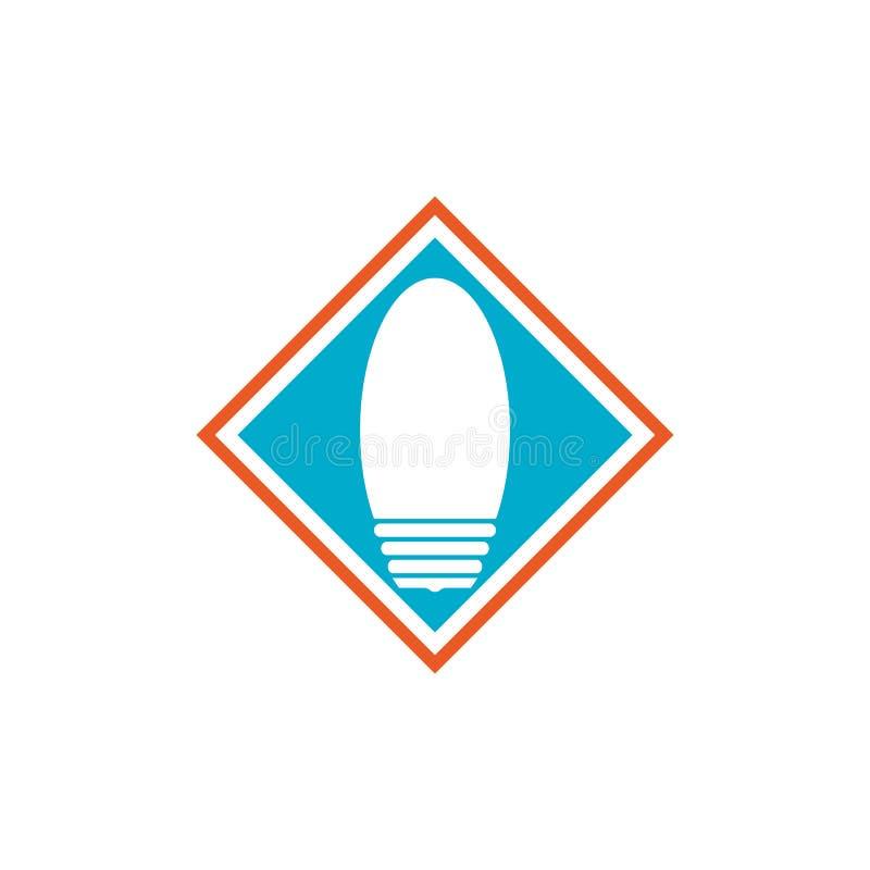 light bulb symbol icon royalty free illustration