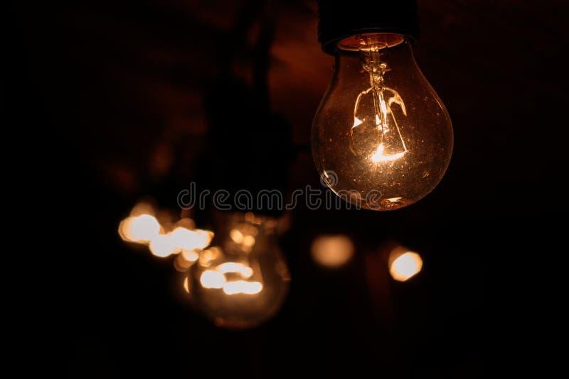 Light Bulb Turned on stock photos