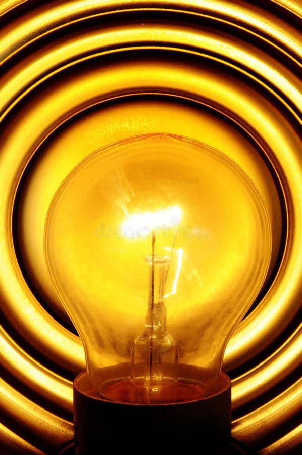 Free Light Bulb Turned On Stock Image - 14139071