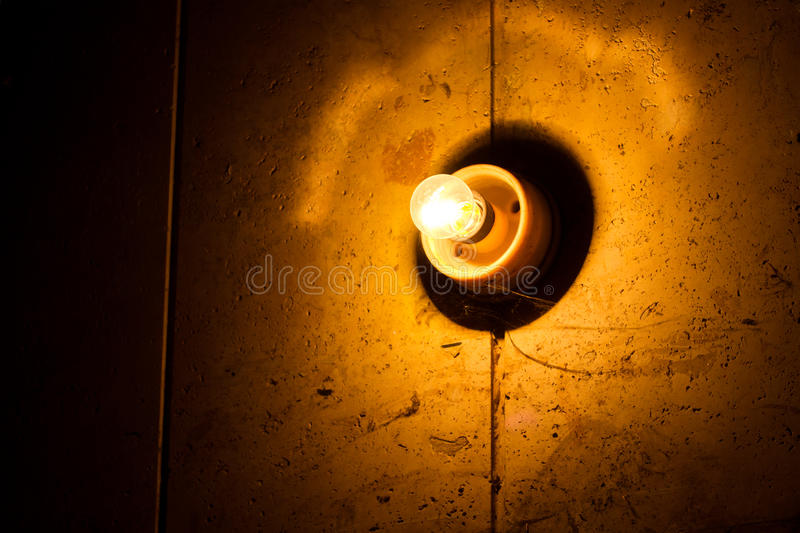 Light bulb on wall stock image image of decoration historical download light bulb on wall stock image image of decoration historical 22947723 aloadofball Image collections