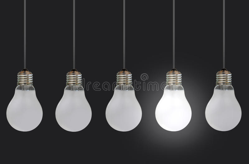 Download Light bulbs stock photo. Image of innovative, ideas, unique - 21816028