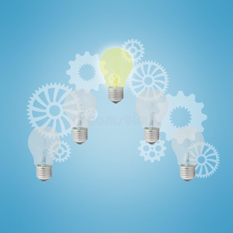 Download Light bulbs stock illustration. Illustration of business - 36709252