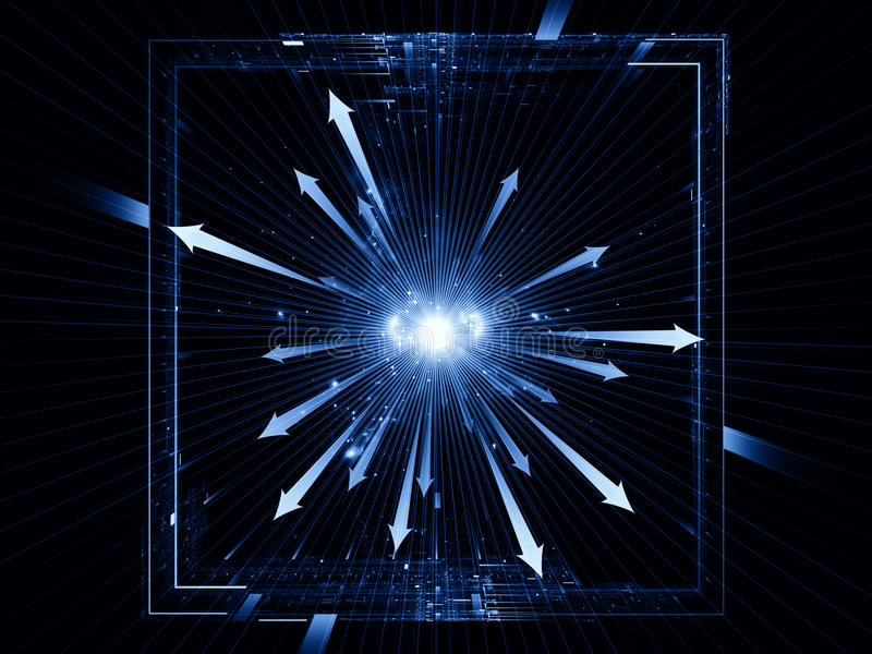 Download Light burst stock illustration. Image of metaphor, light - 25527968