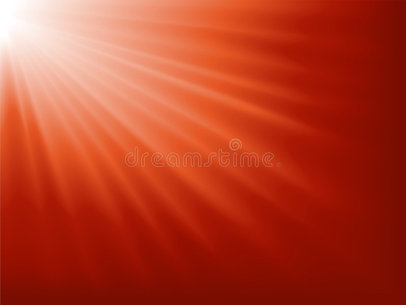 Light burst, abstract background. Abstract background. Light burst from white to dark red. Blend