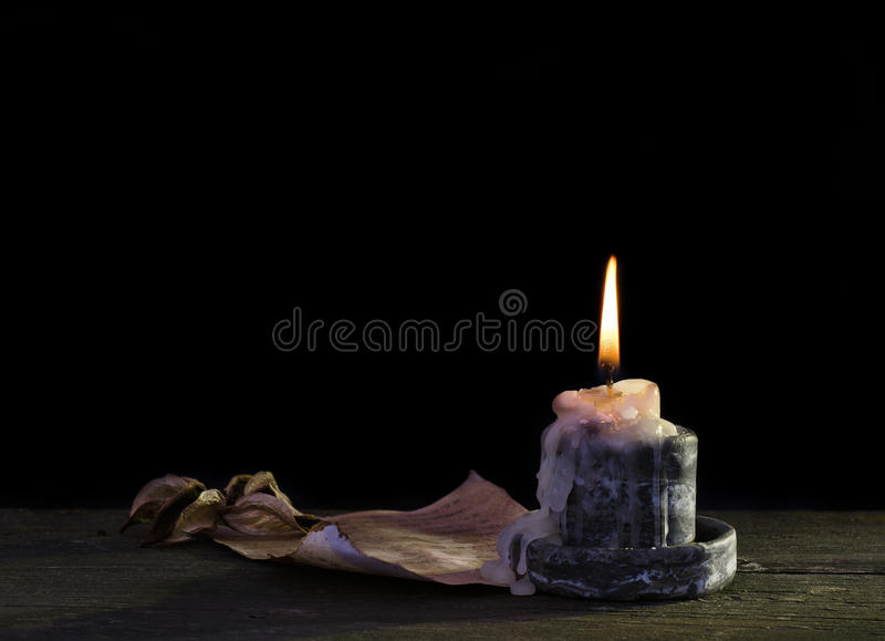 Download Light a candle stock image. Image of blank, celebration - 26806613