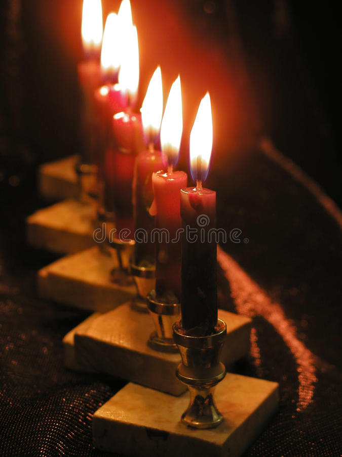 Download Light of candles stock photo. Image of fire, darkness - 14586630