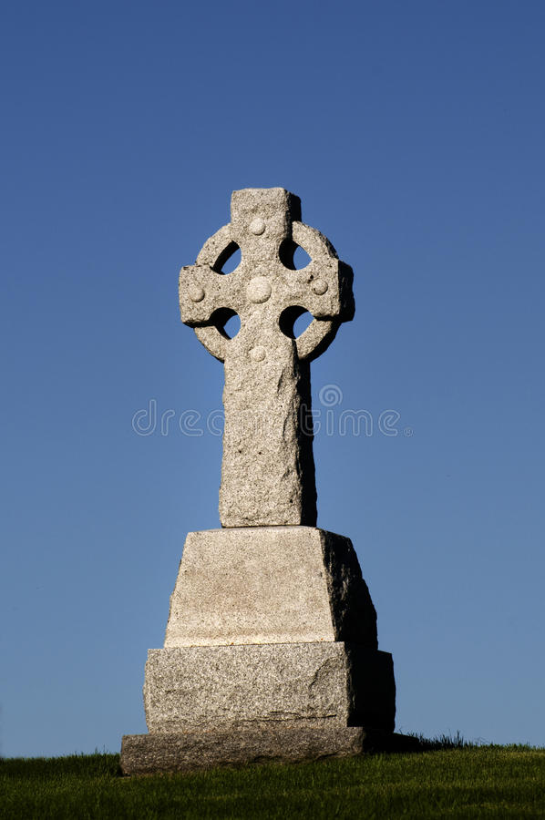 Light on Celtic Cross stock photos