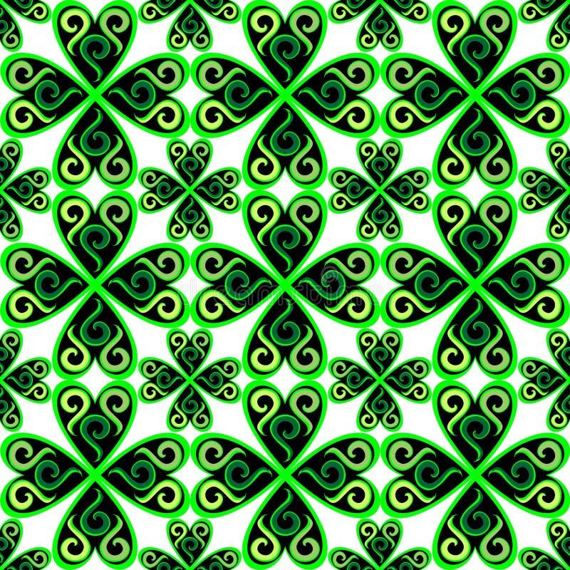Light_celtic_pattern illustrazione vettoriale