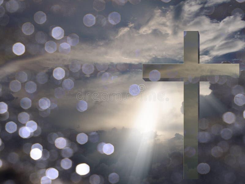 Light of Christ royalty free illustration