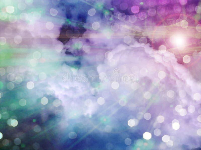 Download LIght in Clouds stock illustration. Illustration of meteorology - 13324281