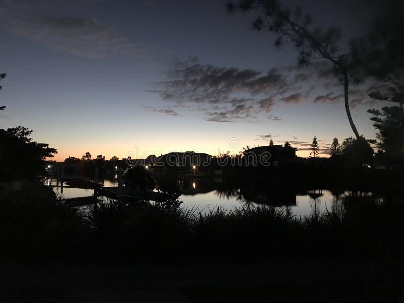 Australia Sunset stock image