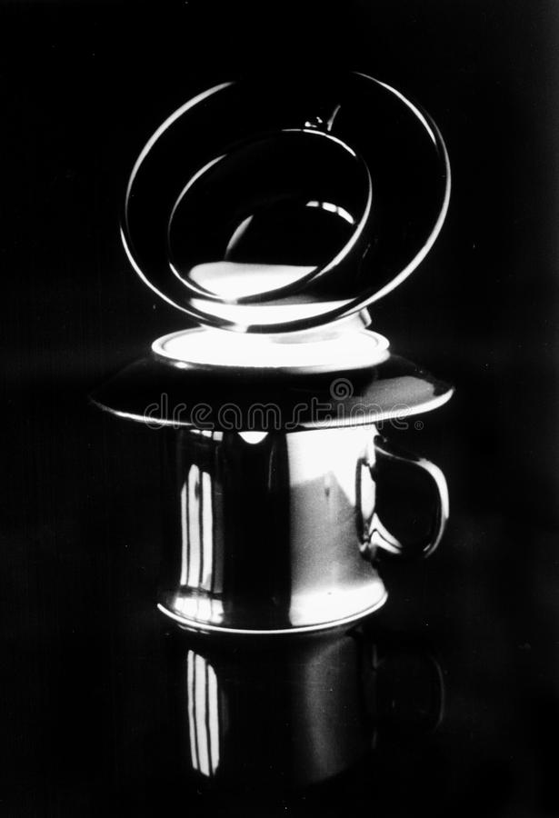 Light Cofee Stock Photography