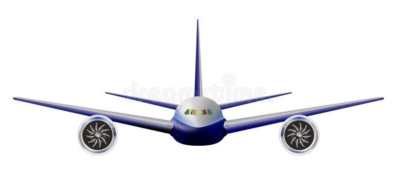 Light Commercial Jet Plane Stock Images