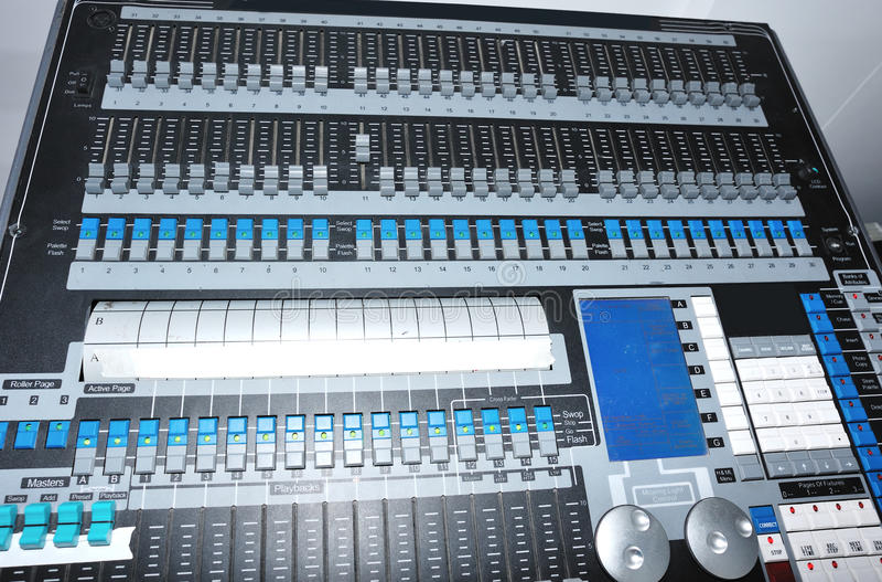 Download Light controller stock photo. Image of karaoke, concert - 25182096
