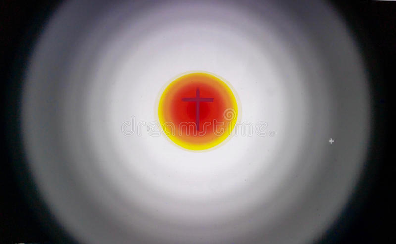 Download The Light of the Cross stock illustration. Image of ideas - 71084059