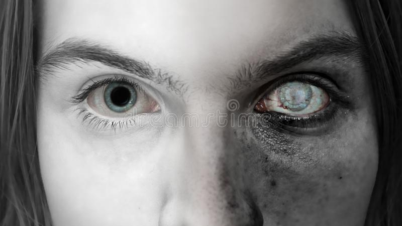 Download Light and dark stock photo. Image of angel, eyebrows - 20380692