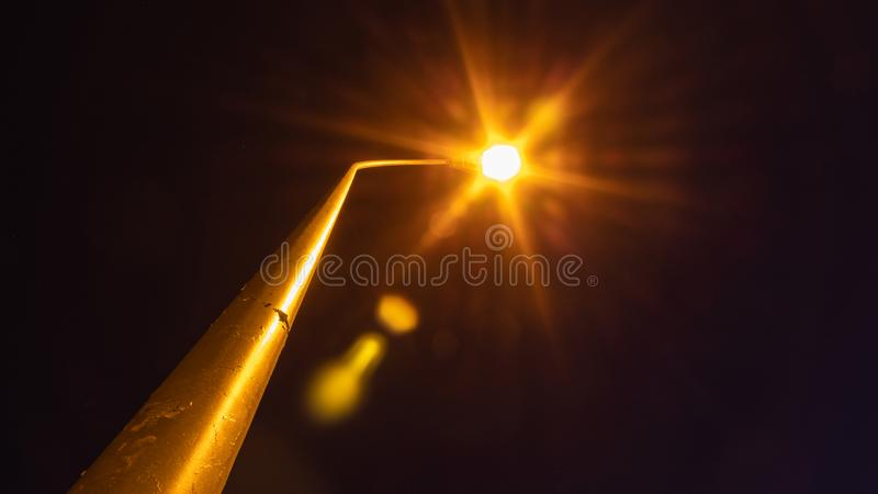 The light in the darkness royalty free stock images