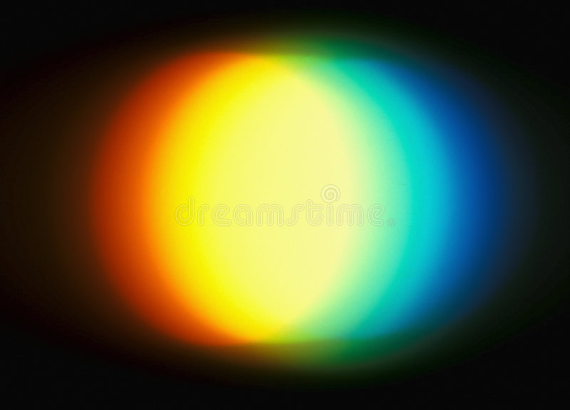 Light Decomposition royalty free stock image