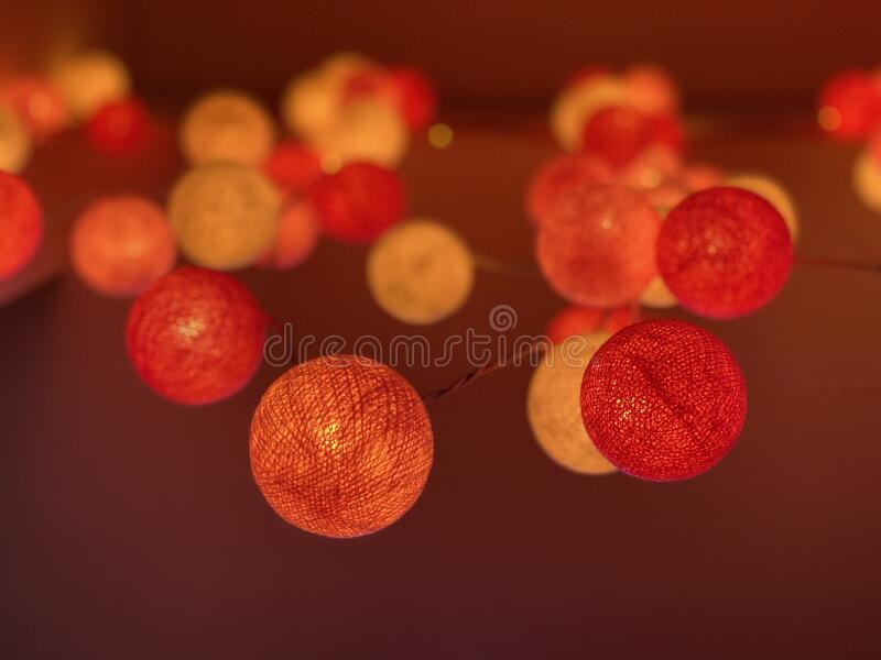Light decoration royalty free stock images