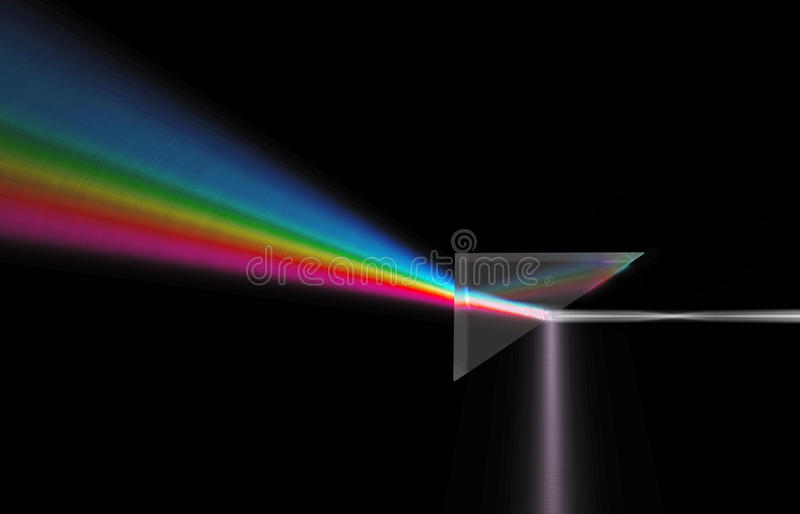 Light dispersion royalty free stock image