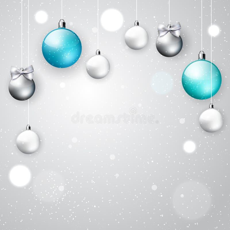 Light Elegant Christmas Background Stock Vector Image