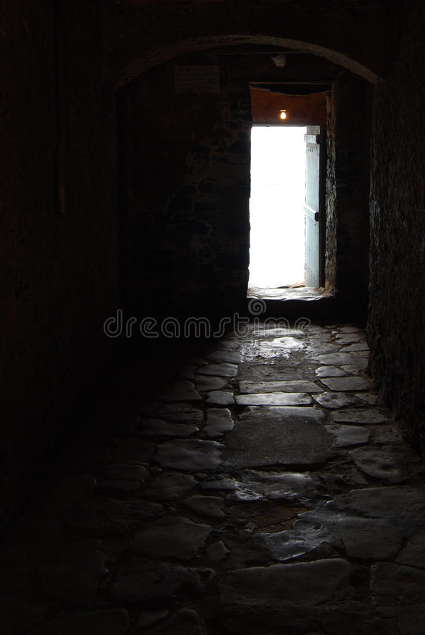 Light At The End Of The Tunnel? Royalty Free Stock Photo