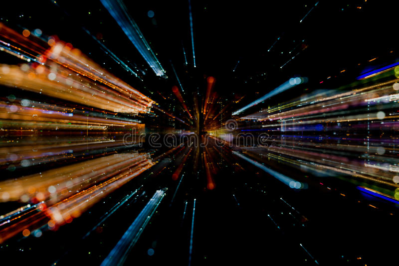 Light fiber abstract. Technology concept royalty free stock photo