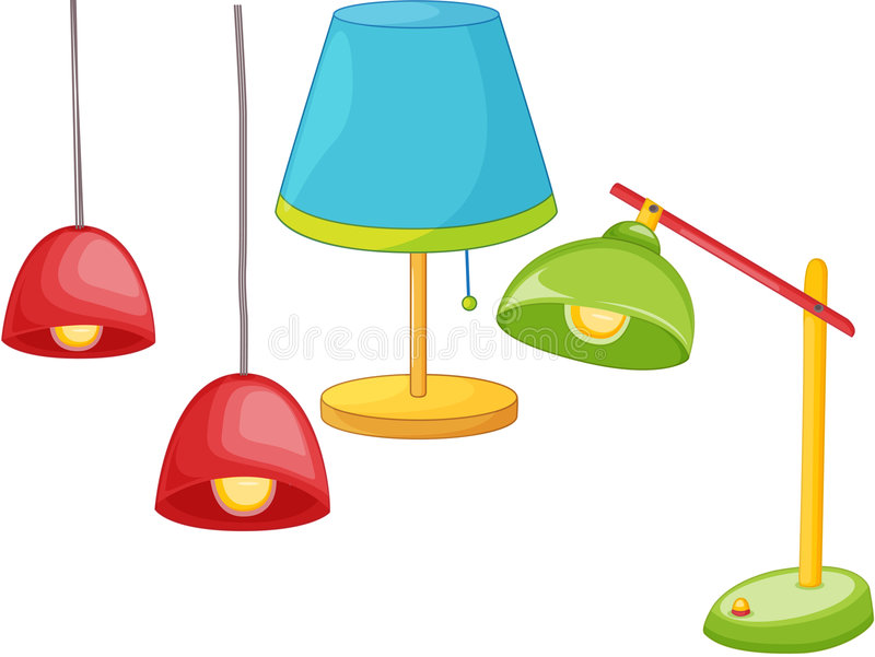 Download Light fittings stock illustration. Illustration of lampshade - 8636281
