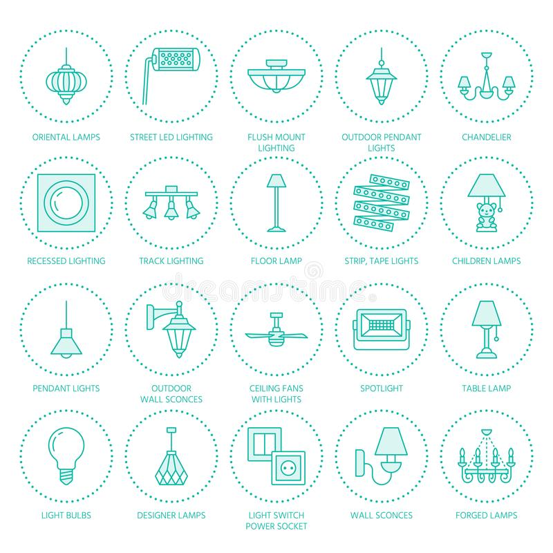 Light fixture lamps flat line icons home and outdoor lighting download light fixture lamps flat line icons home and outdoor lighting equipment chandelier workwithnaturefo