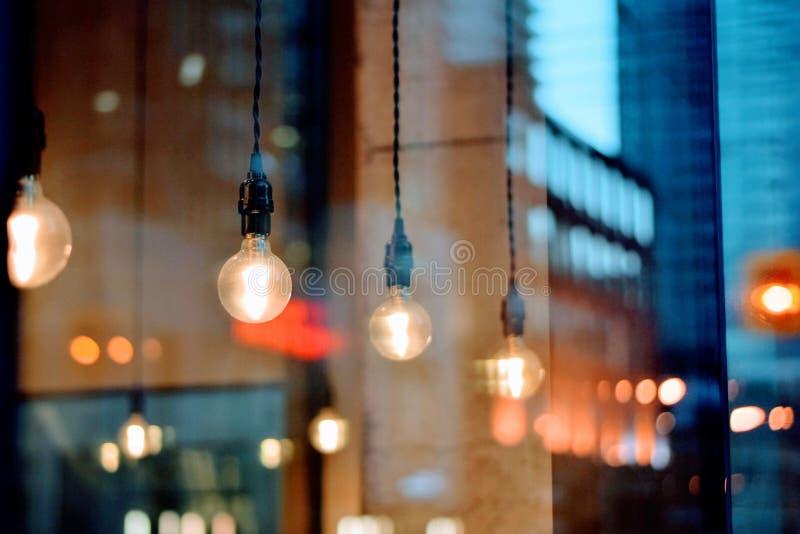 Light Fixtures Inside Modern Cafe Free Public Domain Cc0 Image