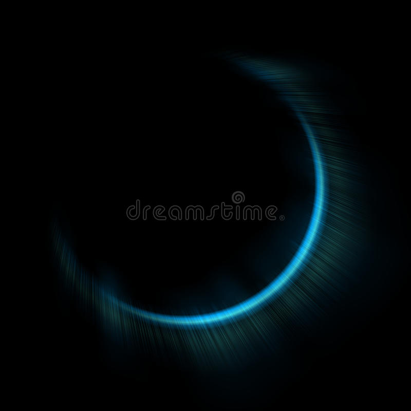 Light Flare Special Effect. Vector Illustration. Stock Image